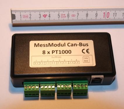 Messmodul fuer max. 8 PT1000